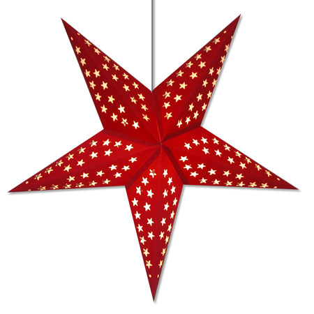 Solid Red Star Light