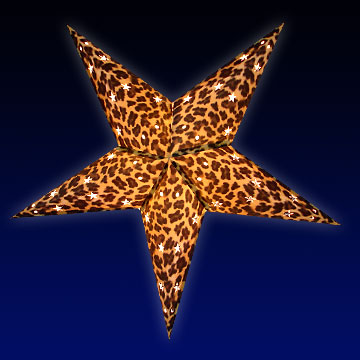 Leopard Print Star Light