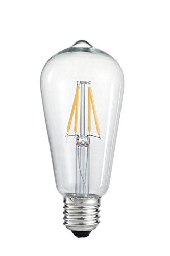 LED Filament Edison Light Bulb ST64
