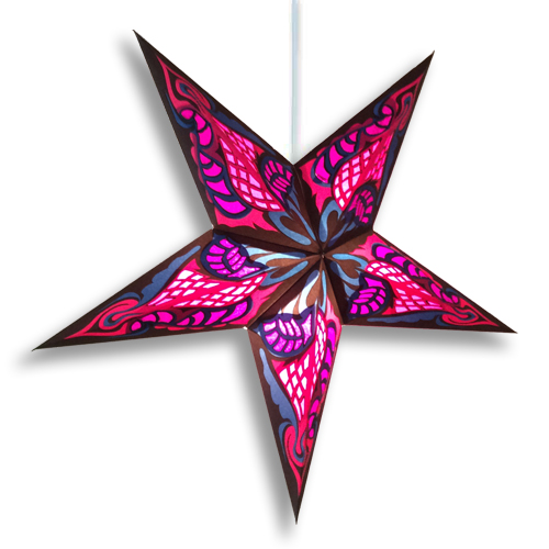 Hydra Purple Star Lamp