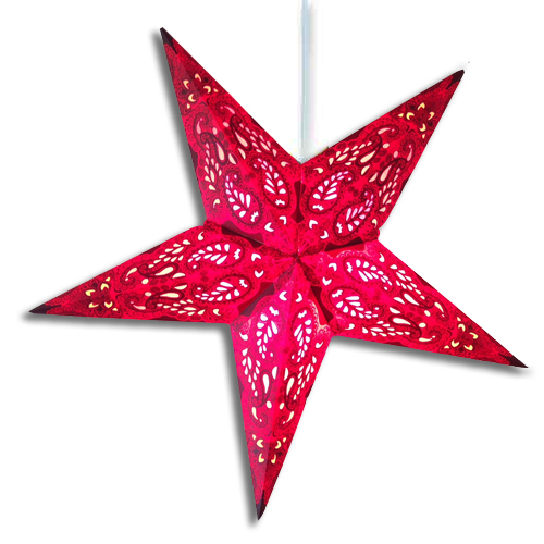 Red Aura Star Lantern