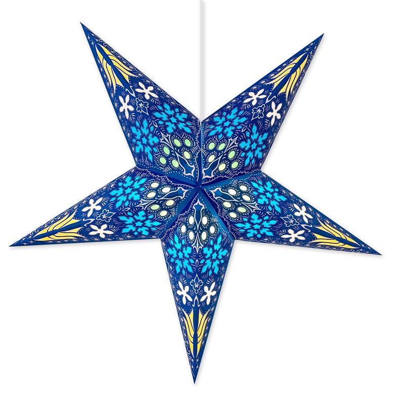 Supernova Blue Star Lamp